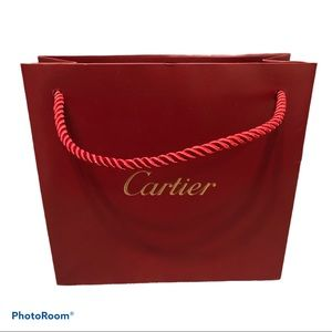 Cartier Shopping Bag
